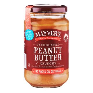 Mayver's Dark Roasted Peanut Butter - Crunchy