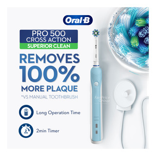 Oral-B Electric Toothbrush - Pro 500 Cross Action