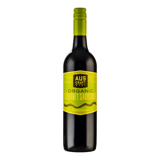 Aus Craft Organic Red Wine - Cabernet Sauvignon