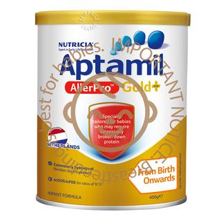 Aptamil AllerPro Gold+ Infant Milk Formula - Stage 1 400g
