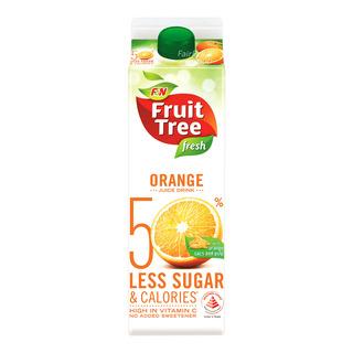 F&N Fruit Tree Fresh Less Sugar & Calories Juice - Orange