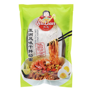 Qiu Lian Ready to Cook Dry You Mee - Asian Spicy