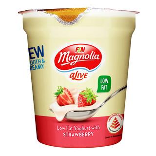 F&N aLive Low Fat Yoghurt - Strawberry