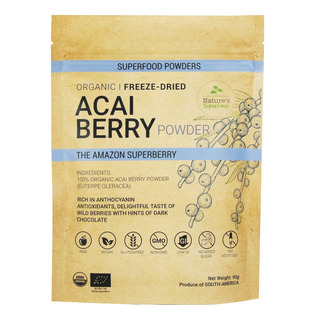 Nature's Superfoods Organic Freeze-Dried Powder - Acai Berry