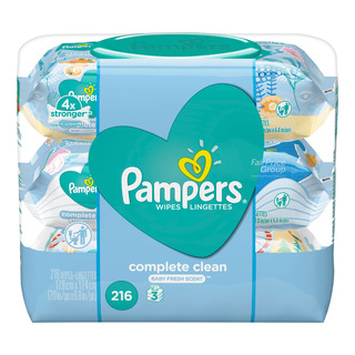 Pampers Baby Wet Wipes - Complete Clean