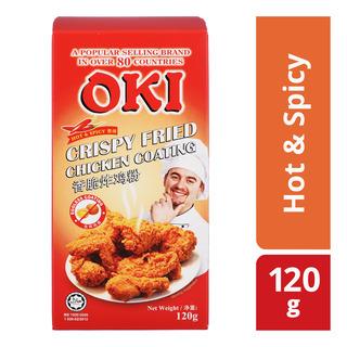 Oki Crispy Fried Chicken Coating - Hot & Spicy