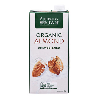 Australia's Own Organic Milk - Almond (Unsweetened)