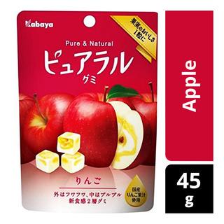 Kabaya Pure & Natural Gummy - Apple