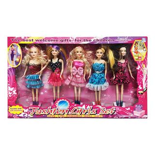 OM Toys Children Toys - Fashion Girls Doll Set