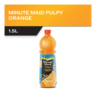 Minute Maid Pulpy Bottle Juice Drink - Orange
