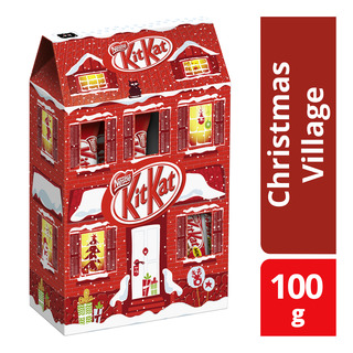 Nestle Kit Kat Chocolate Bar - Christmas Village