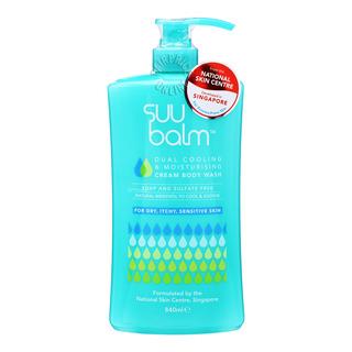Suu Balm Cream Body Wash - Cooling & Moisturising
