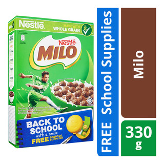 Nestle Cereal - Milo + Free Back To School Supplies | FairPrice