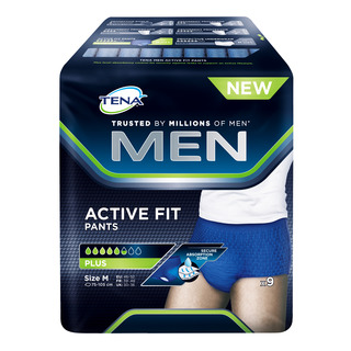 TENA Pants Plus Men Active Fit Adult Diapers - M
