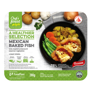 Chef's Finest Ready Meal - Mexican Baked Fish