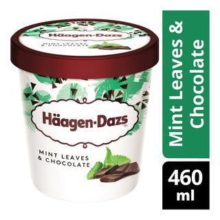 Haagen Dazs Ice Cream Mint Leaves Amp Chocolate