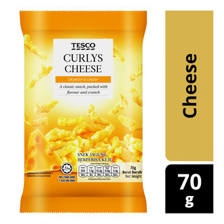 Tesco Curlys Snack - Cheese