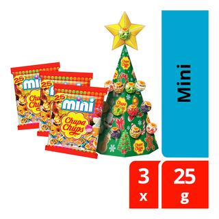 Chupa Chups Christmas Pack Lollipops - Mini