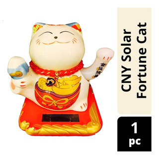 Imported CNY Solar Fortune Cat