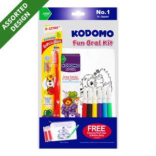 Kodomo Children Fun Oral Kit - 9 - 12 years old