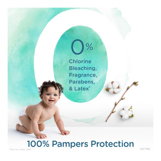 Pampers Pure Protection Diapers - Size 3 (7 - 13kg)