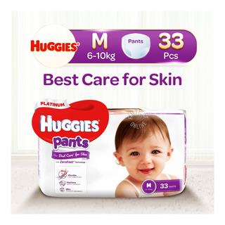 Huggies Platinum Pants - M (6 - 10kg)