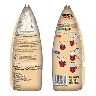 Nescafe 3 in 1 Instant Coffee - Original (Brown Sugar)