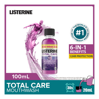 Listerine Travel Pack Mouthwash - Total Care