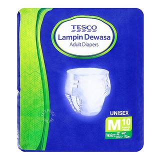Tesco Unisex Adult Diapers - M