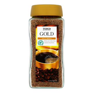 Tesco Gold Instant Freeze Dried Coffee