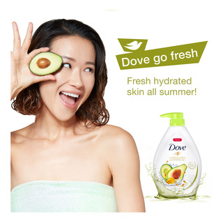 Dove Body Wash - Go Fresh Fruity & Floral