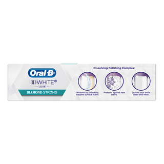 Oral-B 3D White Luxe Toothpaste - Diamond Strong