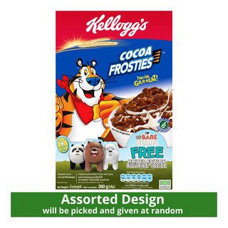 Kellogg's Cereal - Cocoa Frosties + Free Figurine