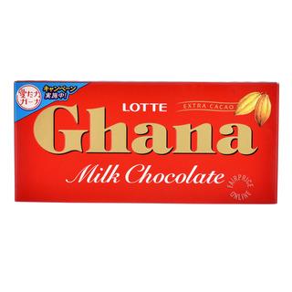 Lotte Ghana Chocolate Bar - Milk
