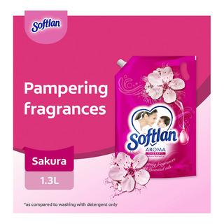 Softlan Aroma Therapy Fabric Softener Refill - Sakura Romance