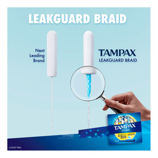 Tampax Pearl Tampons - Regular (Unscented)