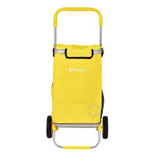 FairPrice Trolley with Bag - Yellow