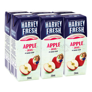 Harvey Fresh Packet Juice - Apple (No Added Sugar)