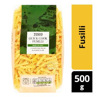 Tesco Quick Cook Pasta - Fusilli