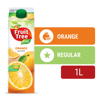 F&N Fruit Tree Fresh Juice - Orange with Orange Sacs and Pulp