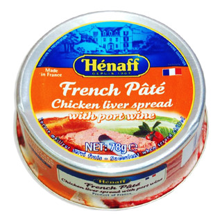 Henaff Chicken Liver Spread with Port Wine