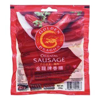 Golden Dragon Oriental Sausage - Lean Pork