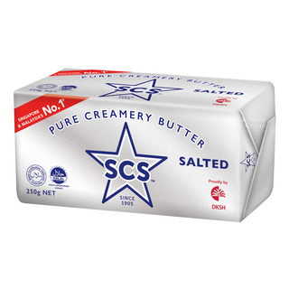 SCS Pure Creamery Butter Block - Salted 250g| FairPrice