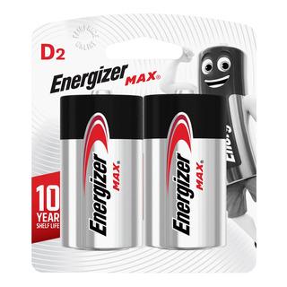 Energizer Alkaline Battery - Max (D)