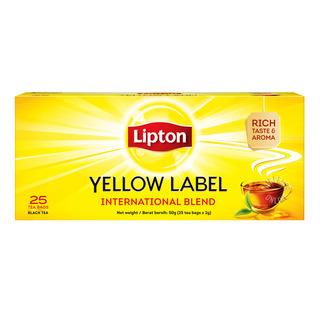 Lipton Yellow Label Tea Bags - International Blend