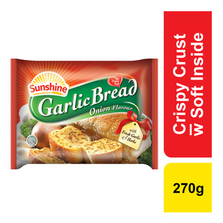 Sunshine Frozen Garlic Bread - Onion