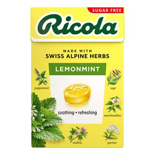Ricola Natural Relief Swiss Herb Lozenges - LemonMint (No Sugar)