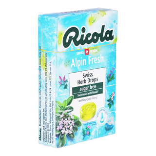 Ricola Natural Relief Swiss Herb Lozenges - Alpin Fresh (No Sugar)