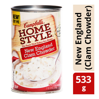 Campbell's Home Style Soup - New England (Clam Chowder)