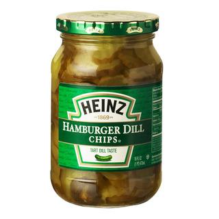 Heinz Hamburger Dill Chips - Tart Dill